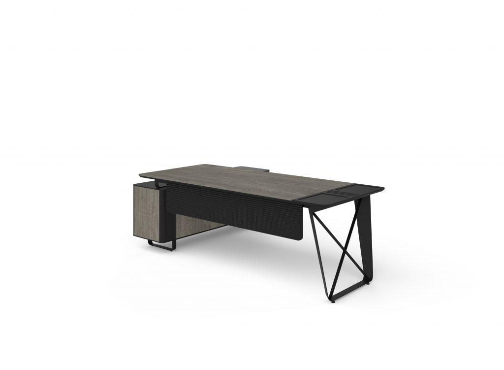 alpi x berlin siyah etajerli masa