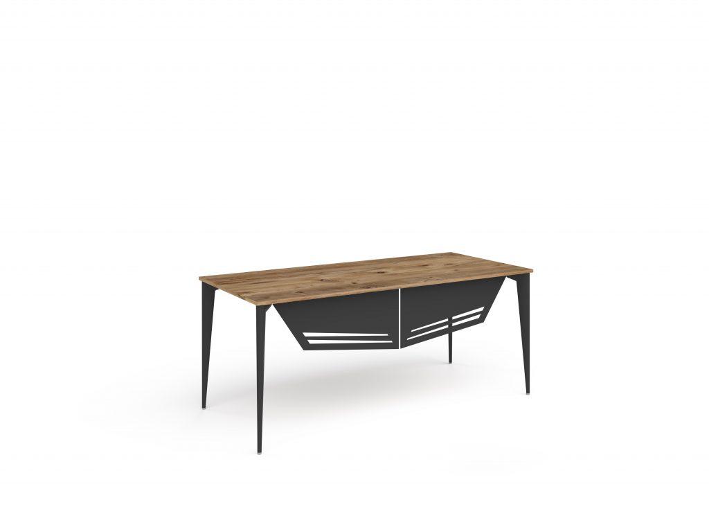 ritim atlantik çam siyah masa